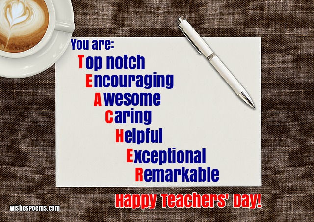 100 happy teachers' day wishes images quotes poems