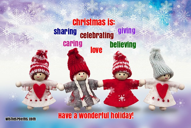 christmas wish essay I can think of a better christmas that my wish coming true and i've decided that people think more about everything at christmas-time pleasures are more joyous and.