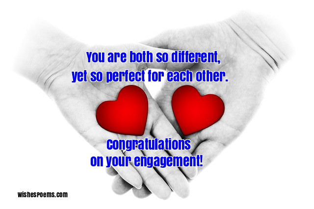 find the perfect way to say congratulations on your engagement with this huge collection of engagement wishes funny engagement quotes and images